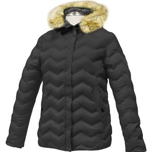 Misty Mountain| Faux Fur-Trim Helix Insulated Coat